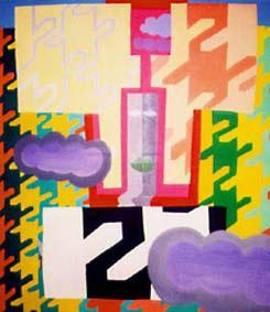 Mexican Painting by Aleksandra Smiljkovic Vasovic aleksandraartworkcom
