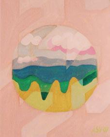 Pink-Landscape-Aleksandra-Vasovic aleksandraartworkcom