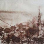 Veduta-by Aleksandra Smiljkovic Vasovic aleksandraartworkcom