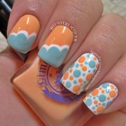 crazy summer nails vezilka