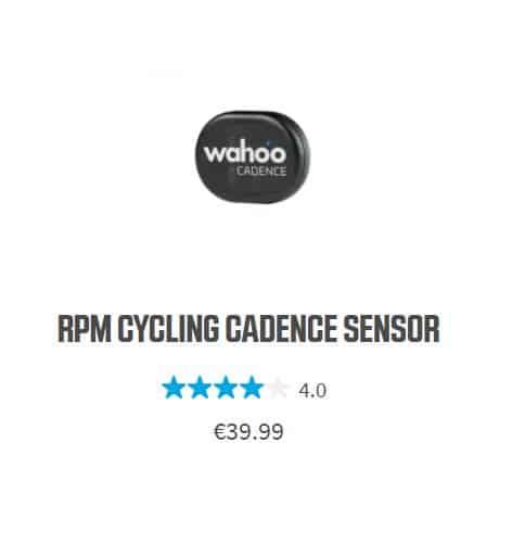 Wahoo RPM senzor kadence