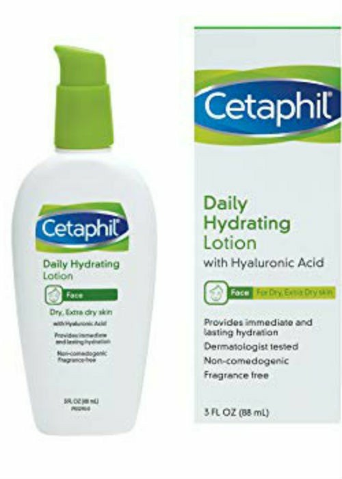 Cetaphil Daily Hydrating Lotion with. Hyaluronic Acid