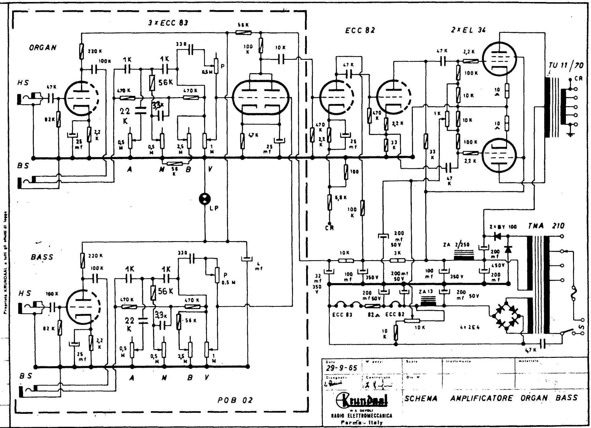 Il Meglio Di Potere Schema Elettronica Chitarra Elettrica Eko