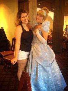 Café da manhãs com as princesas Cinderela