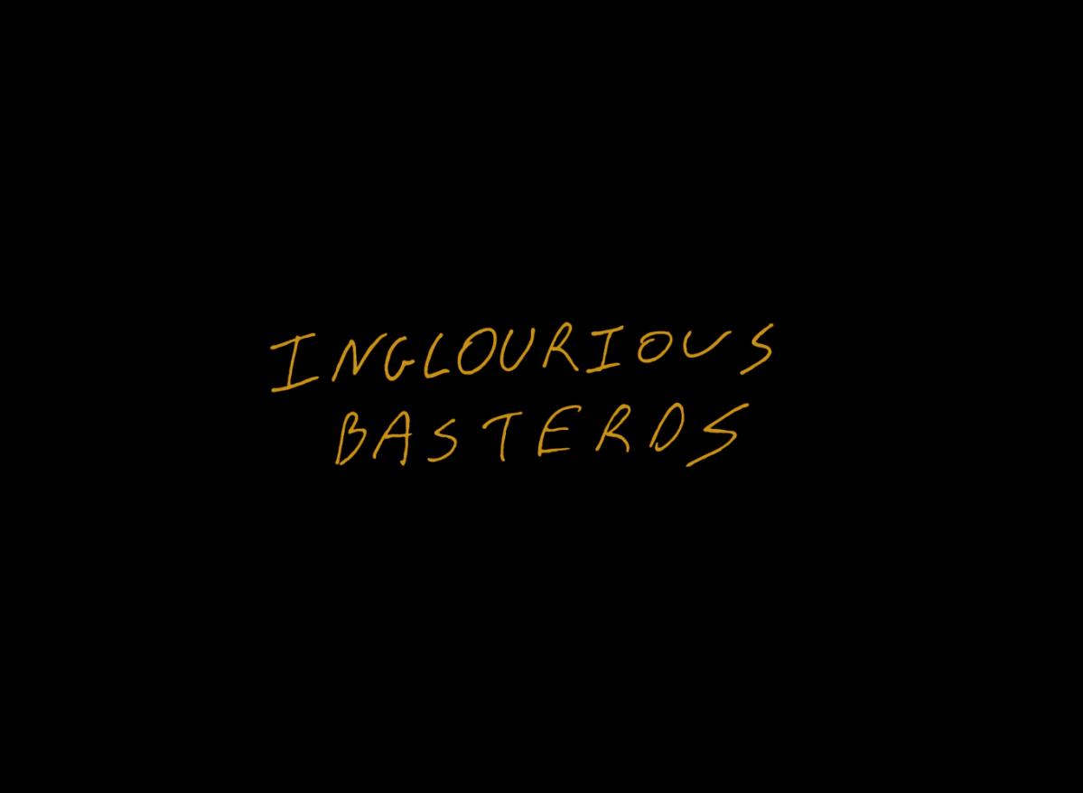 A estrutura própria de Bastardos Inglórios