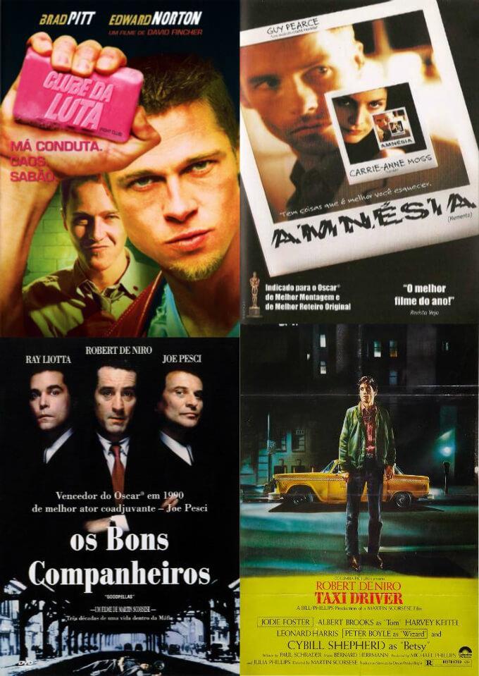 Pôsteres filmes narrações