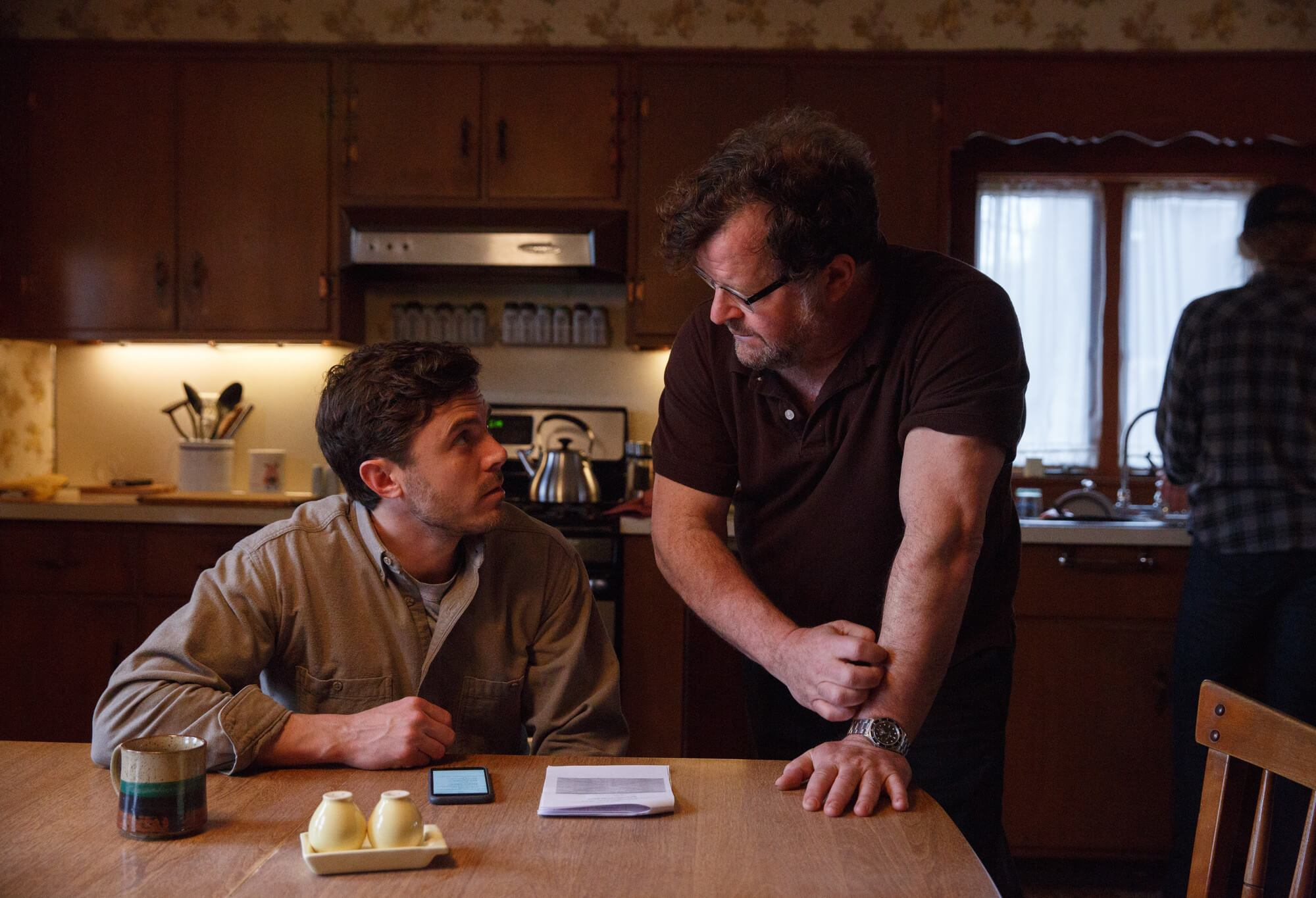 Kenneth Lonergan e Casey Affleck