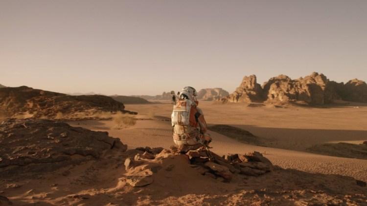 Perdido em Marte cena 3