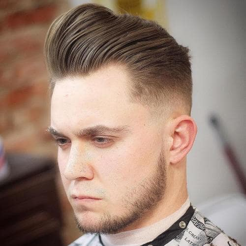 Hacimli Erkek Saç Modelleri