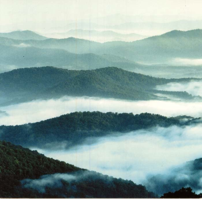 09-1-02 The Blue Ridge Mountains