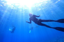 Freediving
