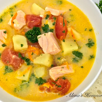 Salmon Fish Soup