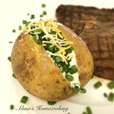 Simple Oven-Baked Potatoes