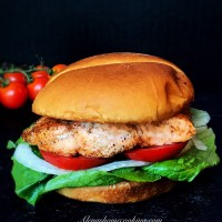 Juiciest Salmon Burger