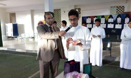 إذاعة مدرسية للأستاذ ناصر حجاج عن فنون البلاغة باستخدام إستراتيجية ( مندوب المبيعات )