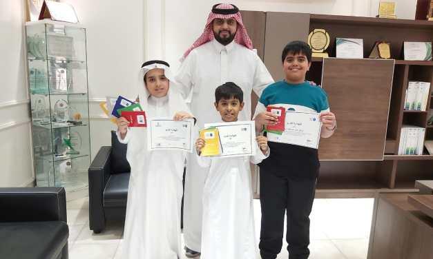 مشاركات مدارس العناية في مسابقة تحدي القراءة