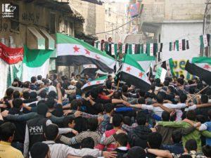 Manifestation du 15 mars 2013 à Babila, banlieue de Damas