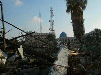 Ministère de l'Intérieur après les bombardements de novembre 2012 à Gaza