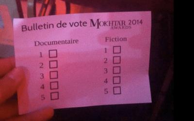 Le vote...