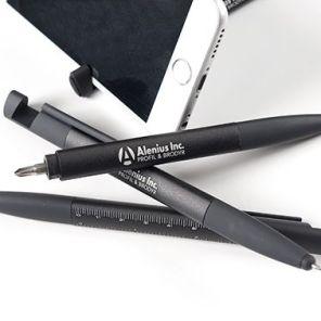 Penna med multifunktion.