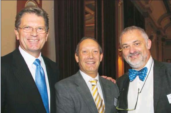 Ted Bailleau, John Searle & Sam Tatarka (Photo by Peter Haskin)