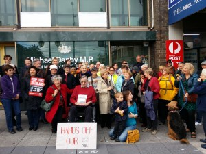 Danby office Hands off our ABC