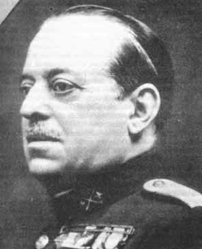 General Sanjurjo, marqués del Rif, veterano de la guerra de Cuba, y héroe del desembarco de Alhucemas