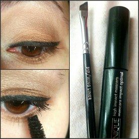 Clinique high impact mascara folosit ca liner