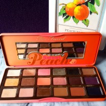 Review : Too Faced Sweet Peach Eye Shadow Collection