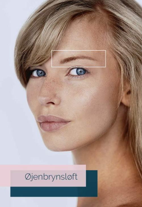 øjenbrynsløft med botox gavekort