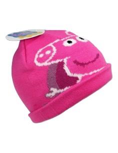 Cappello berretto cuffia Bimba Pile Originale PEPPA PIG