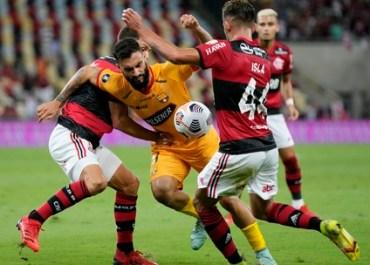 FUTEBOL- Flamengo vence o Barcelona-EQU no Maracanã e abre vantagem na semifinal da Libertadores