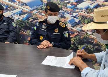 Assinado convênio entre governo e prefeitura de Buritis para melhoria no trânsito do município