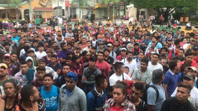 Gobierno de México despliega a policías en el puente internacional Suchiate 3190f50b d51c 4a30 8aa3 9949dac8e1d5 1