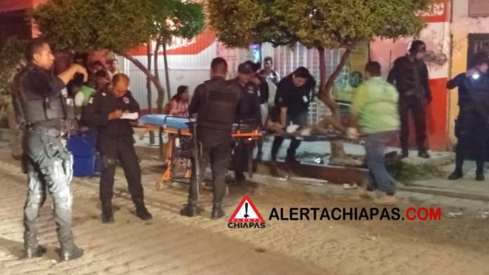 Cinco personas heridas por arma de fuego en la colonia Patria Nueva img 8041