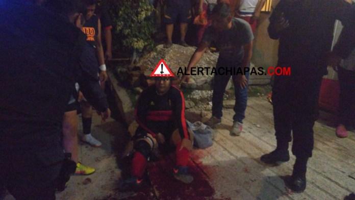 Cinco personas heridas por arma de fuego en la colonia Patria Nueva img 8042