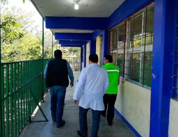 Un alumno en coma y una hospitalizada por negligencia en secundaria de la colonia Cerro Hueco WhatsApp Image 2019 01 31 at 3.17.10 PM
