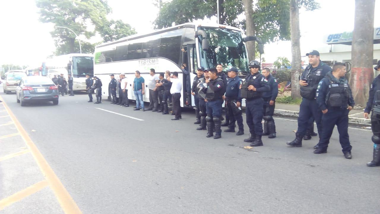 Frenan a nueva caravana migrante en frontera sur de México — ÚLTIMA HORA
