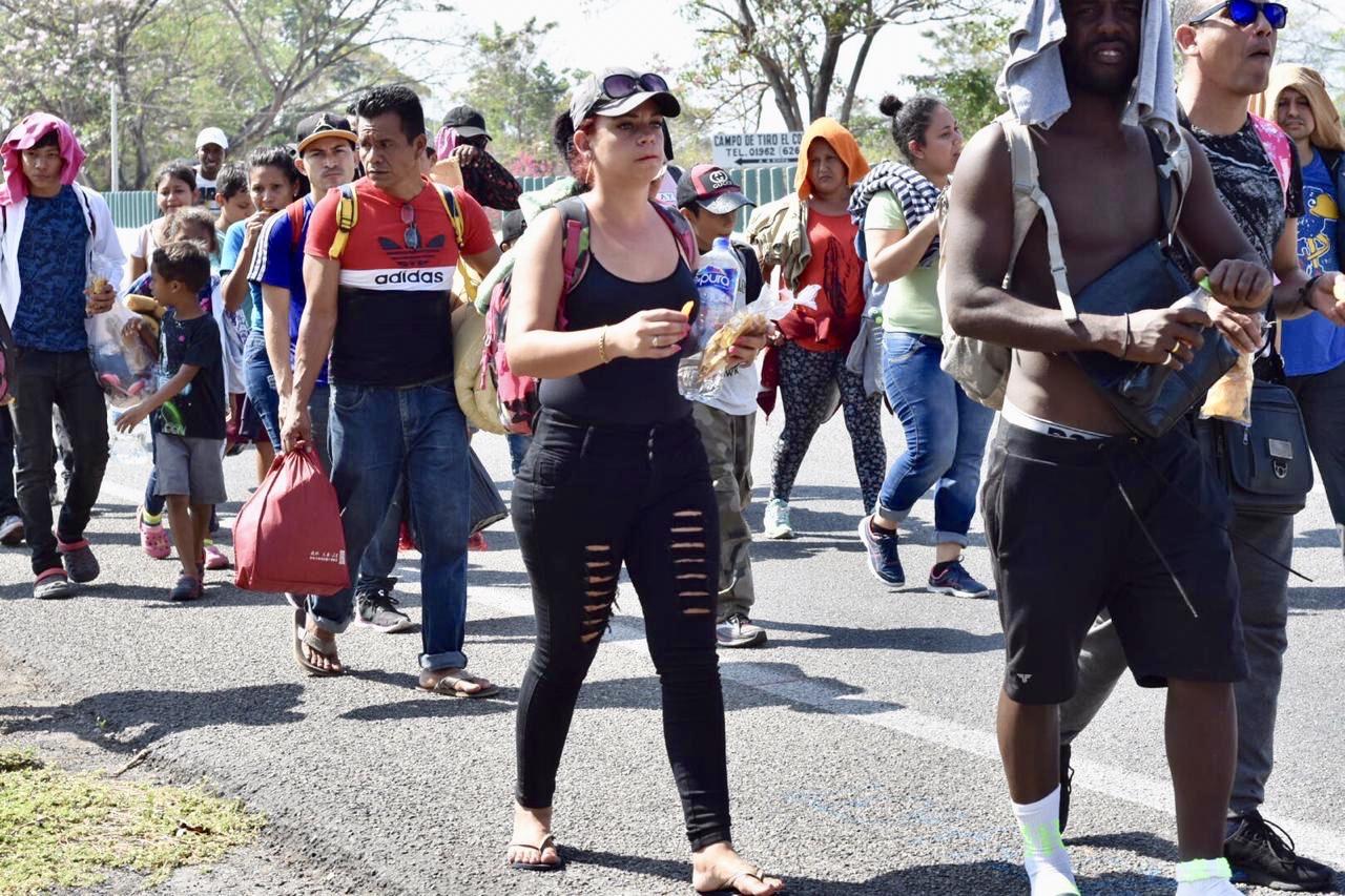 Detienen a 150 migrantes centroamericanos en Chiapas