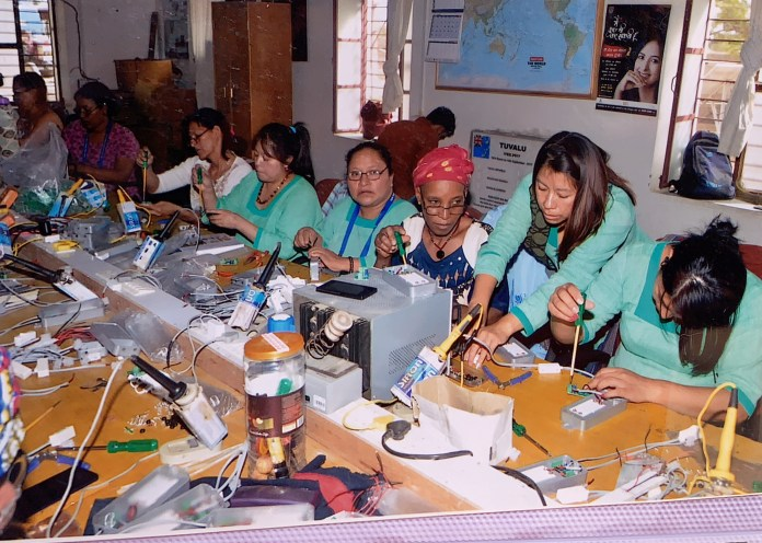 Cuatro indígenas de Chiapas regresan de la India como ingenieras solares 590519768.913979