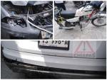 Motorista herido tras carambola en el libramiento sur poniente