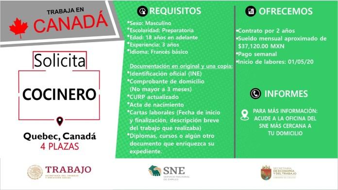 Ofertará Secretaría de Economía y del Trabajo más de mil vacantes WhatsApp Image 2019 10 13 at 2.16.13 PM 1