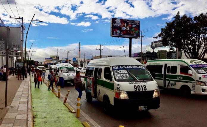Transportistas proponen pasaje en 8.5 pesos en 2020