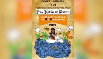 Quita CONECULTA a Tapachula Festival Fray Matías de Córdova