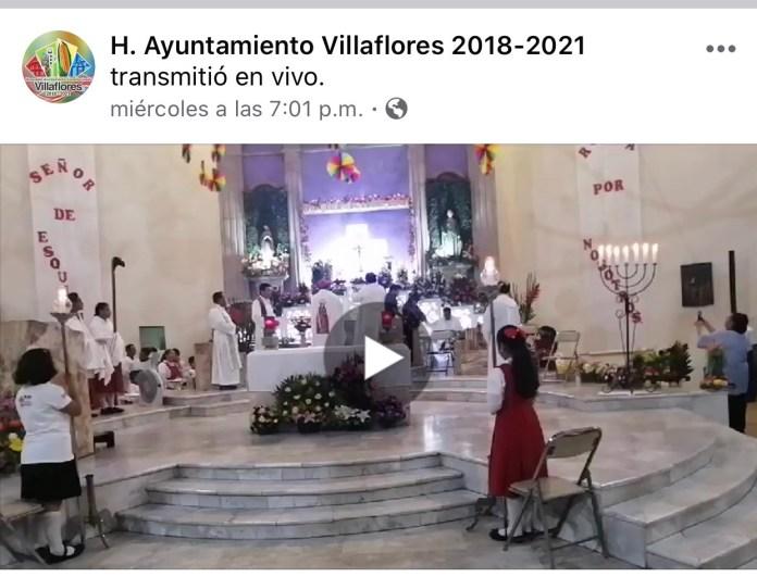La católica cuenta de facebook del Ayuntamiento de Villaflores IMG 3062