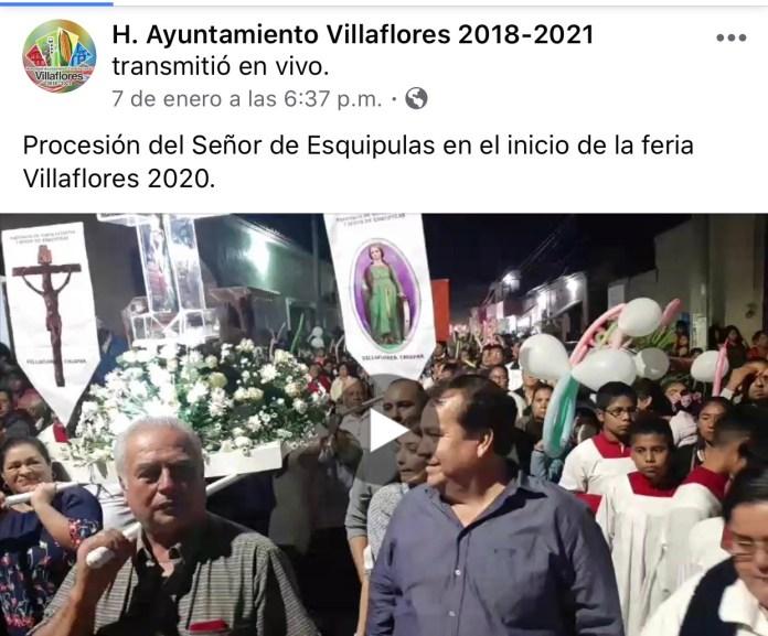 La católica cuenta de facebook del Ayuntamiento de Villaflores IMG 3065