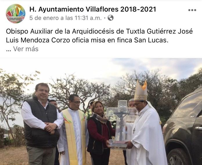 La católica cuenta de facebook del Ayuntamiento de Villaflores IMG 3072