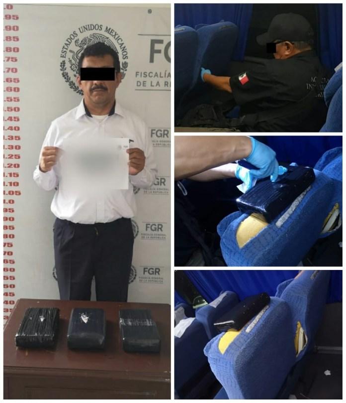 Llevaba tres paquetotes con cocaína en el autobús b1c689c6 c468 4fea ba1a 2e36380939dc