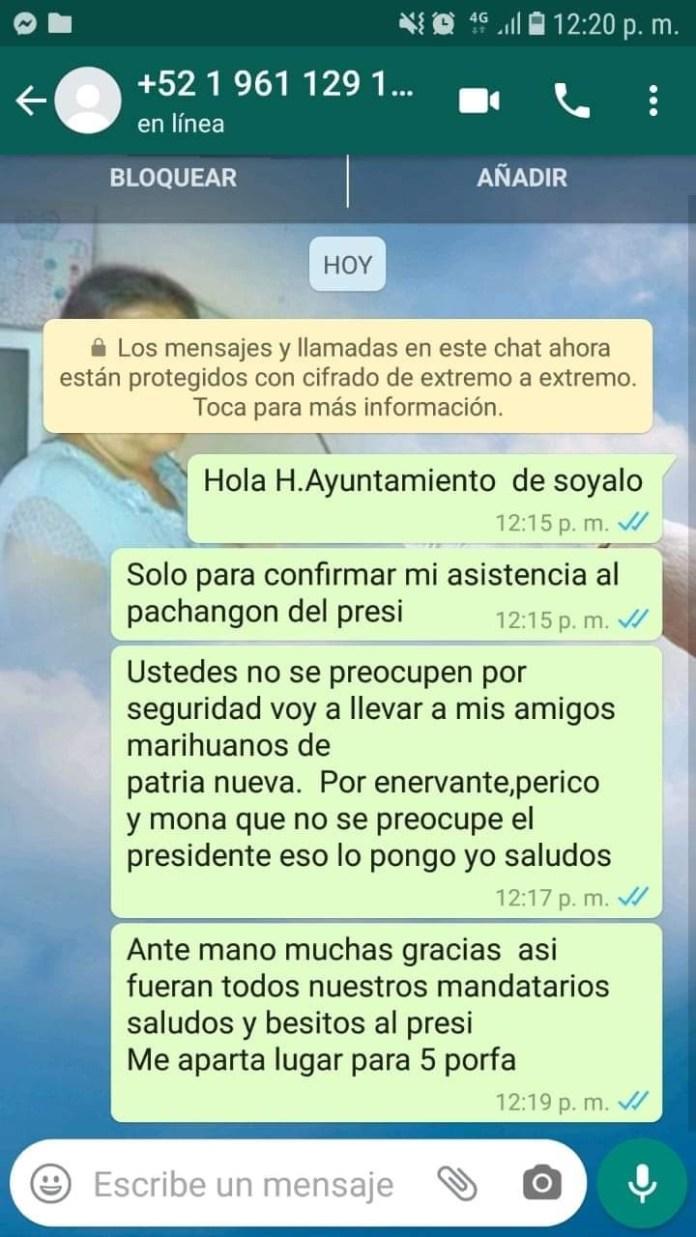Se confirma uso del DIF para organizar cumpleaños del alcalde de Soyaló 1615b614 79c4 4144 8a1e 92c02af49f27