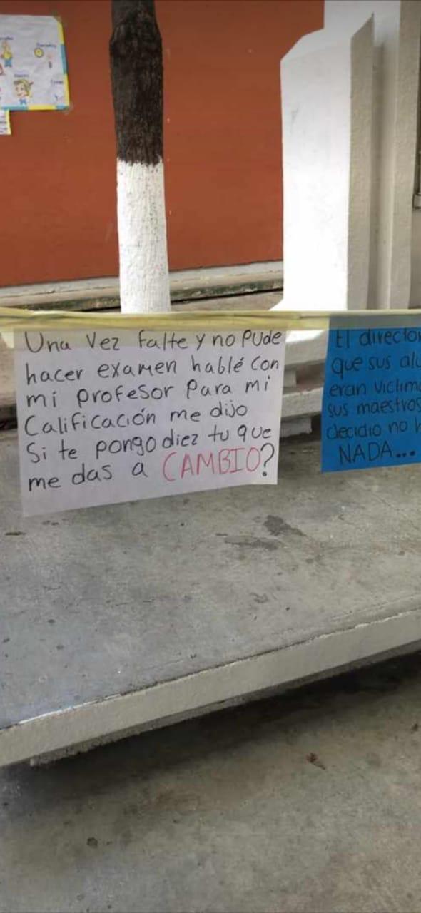 """Realizan """"Tendedero del Acoso"""" en Preparatoria 2, directivos tratan de ocultarlo. 49abdf01 1f89 45ee b48e 69767c34aa07"""